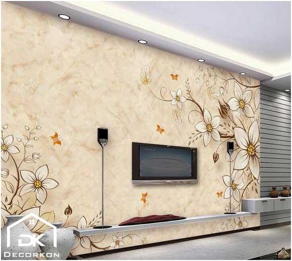 کاغذ دیواری تلوزیون