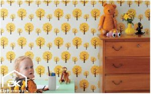 کاغذ دیواری اتاق بچه