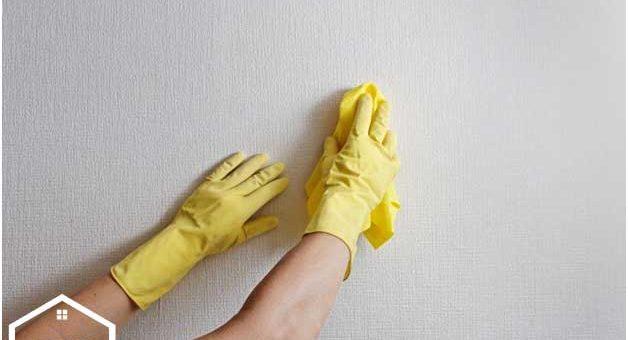 شستشو و تمیز کردن کاغذ دیواری