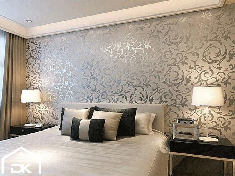 کاغذ دیواری اتاق خواب عروس و داماد