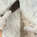 ترمیم یا تعمیر انواع کاغذ دیواری